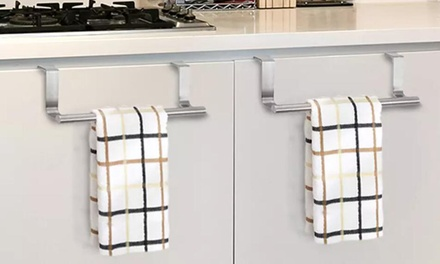 Kitchen Towel Hanging Storage Bar: One ($9.95) or Two ($14.95)