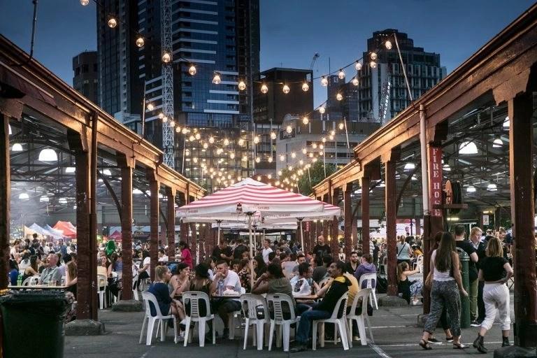 澳洲夜市 Night Market 墨爾本旅遊逛街• 澳洲留學網 - 傑瑞斯留學代辦
