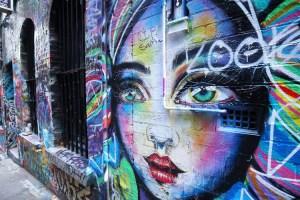 墨爾本街頭塗鴉 - Hosier Lane
