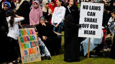 Muslim intimidation