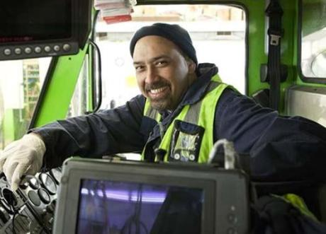 Pacific Islander Transport Driver
