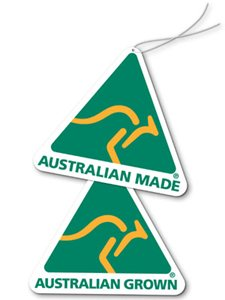 Australian Made and Grown