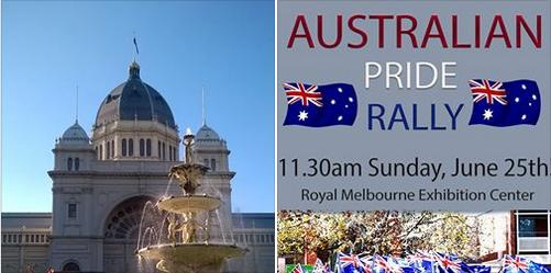 Jun 25: Australian Pride Rally in Melbourne