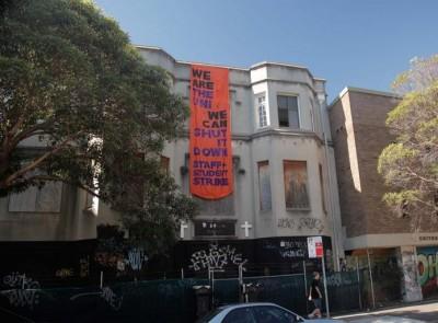 Anarchists attack Sydney University
