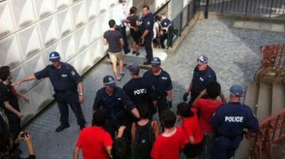 Anarchists invade University