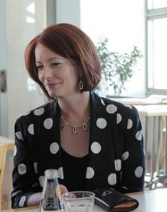 Julia Gillard Socialist Spots