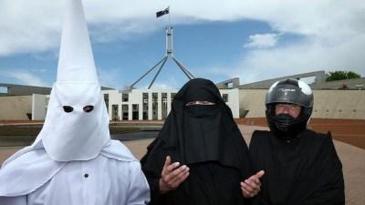 Ku Klux Klan Burqa