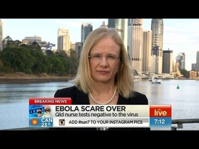 Queensland's Chief Spin Doctor, Dr Jeannette Young