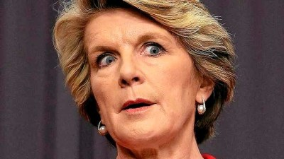Julie Bishop out of control