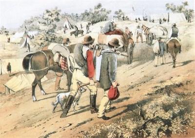 Victorian Goldfields 1850s