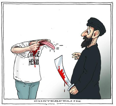 Charlie Hebdo defiance