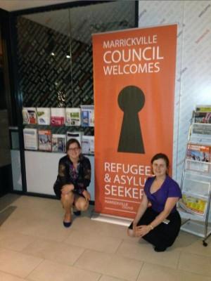 Greens Councillors Sylvie Ellsmore and Melissa Brooks
