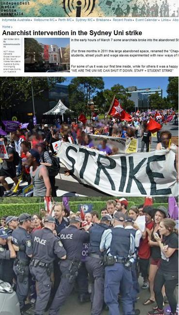 University of Sydney Violence