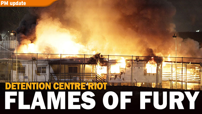 Villawood Detention Centre Riot