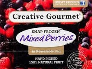 Creative Gourmet frozen berries