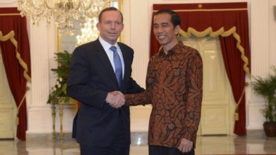 Joko Widodo and Tony Abbott