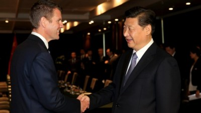 Mike Baird meets Chinese Communist Party dictator Xi Jinping