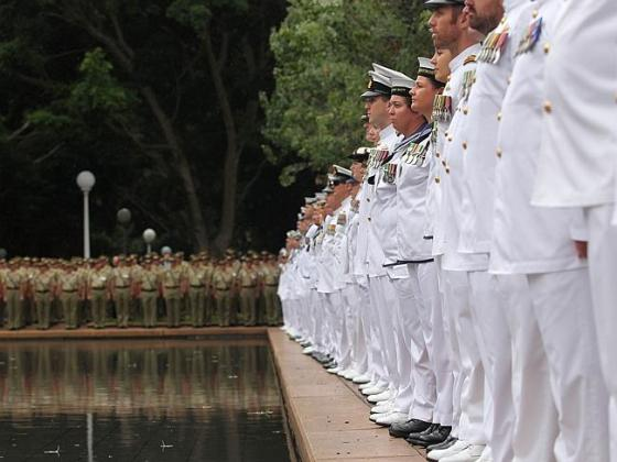 Pool of Remembrance in Hyde Park Sydney