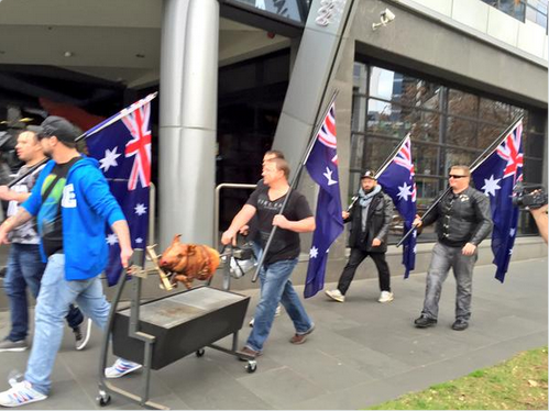 United Patriots Front accuse the ABC of supporting islamic terrorists
