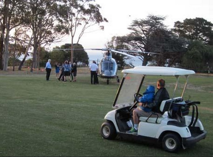 Bronwyn Bishop Helicopter Indulgence