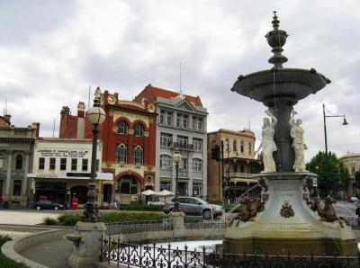 Bendigo Streetscape