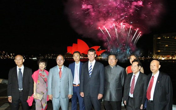 Mike Bairds luvs his Chinese