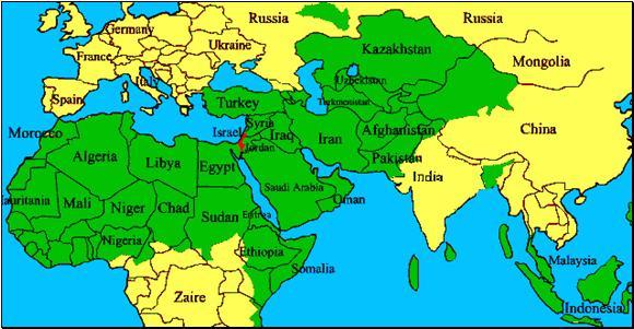 Islam world heading to Europe