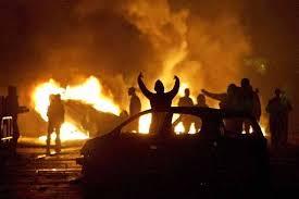 Muslim Car Burning
