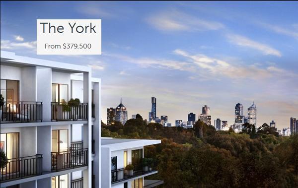 The York Apartments West Brunswick