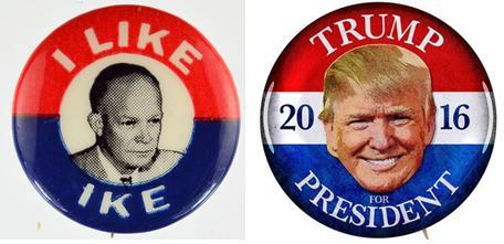 Trump like Eisenhower