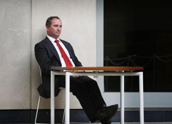 Barnaby Joyce Office Fitout Aristocrat
