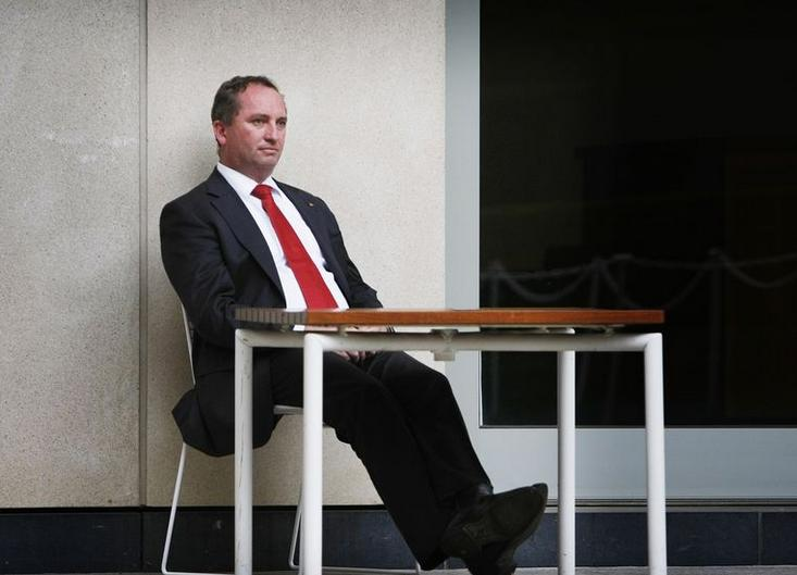 Barnaby Joyce Office Fitout Aristocrat