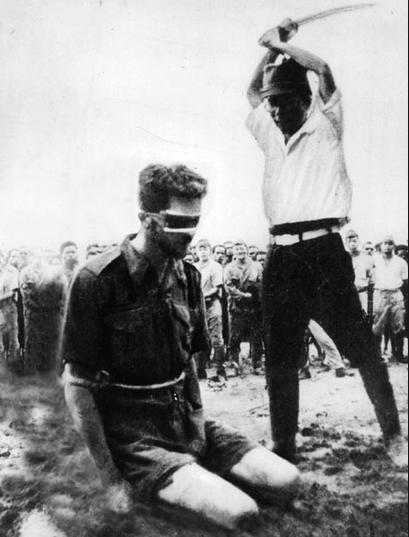 Japanese barbarism toward Australian POWs