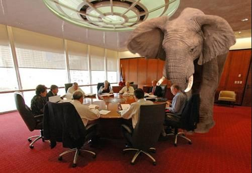 Debt Elephant in the Cabinet Room