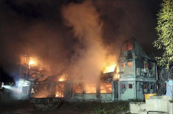 Invader Centres Burned