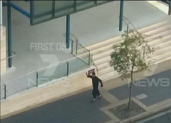 Islamics run shooting out of Parramatta mosque