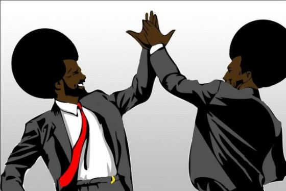 Afro High Five