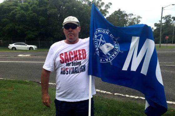 Australian Seafarer Craig Brady sacked for foreign scab labour