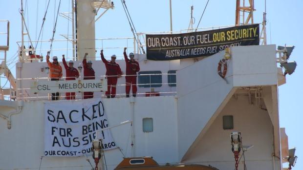 Australian Seaman sacked for being Australian