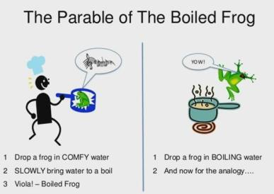 The Parable of the Boiling Frog