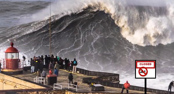 Dangerous Surf No Swimming