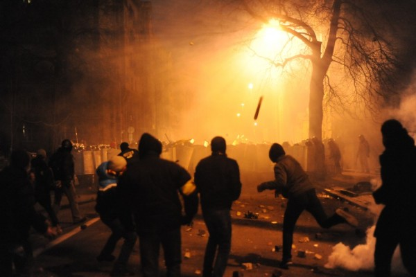 European Violence over Illegals