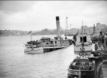 HMAS Kuttabul sunk by Japanese sub killing 21
