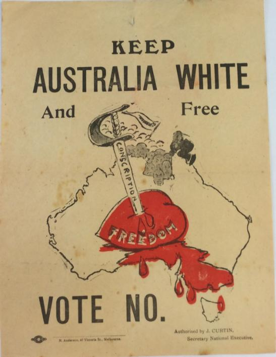 White Australia Policy Australia First Party