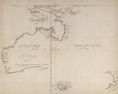 Terra Australia Incognita 1644