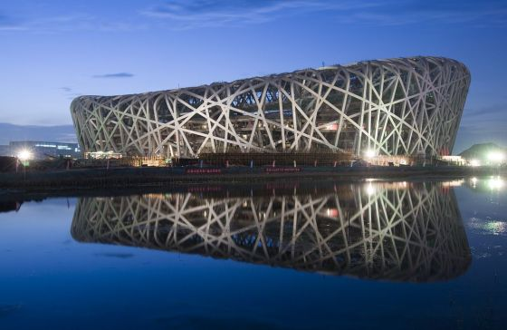 China's Bird Nest Stadium