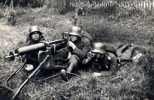 German Machine Gun World War I