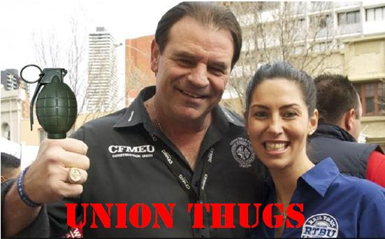 Shorten Labor despatches CFMEU criminal John Setka to standover thuggery and to break laws