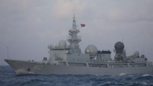 Chinese spy ship 30nm off Queensland monitoring Australia's military exercises with the US - Marise Payne AWOL and Julie Bishop GAF