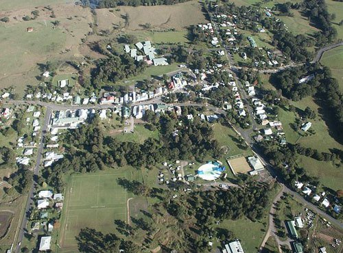 Nimbin Population Areal View